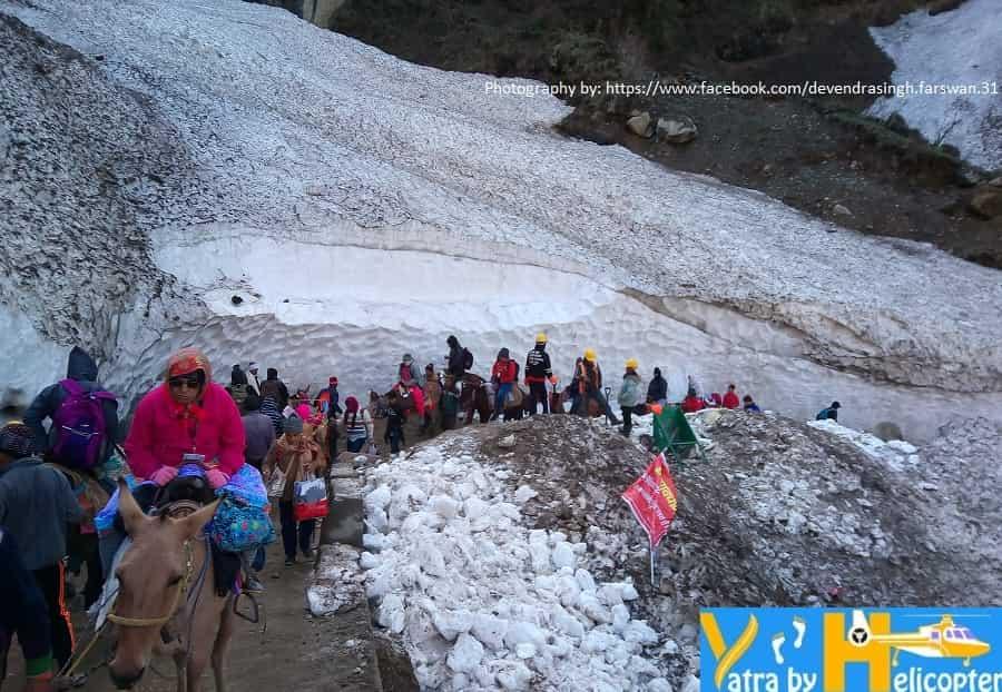 A Sacred Walk Through the Snow to Kedarnath Temple