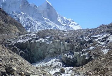 Gaumukh - The snout of the Gangotri Glacier
