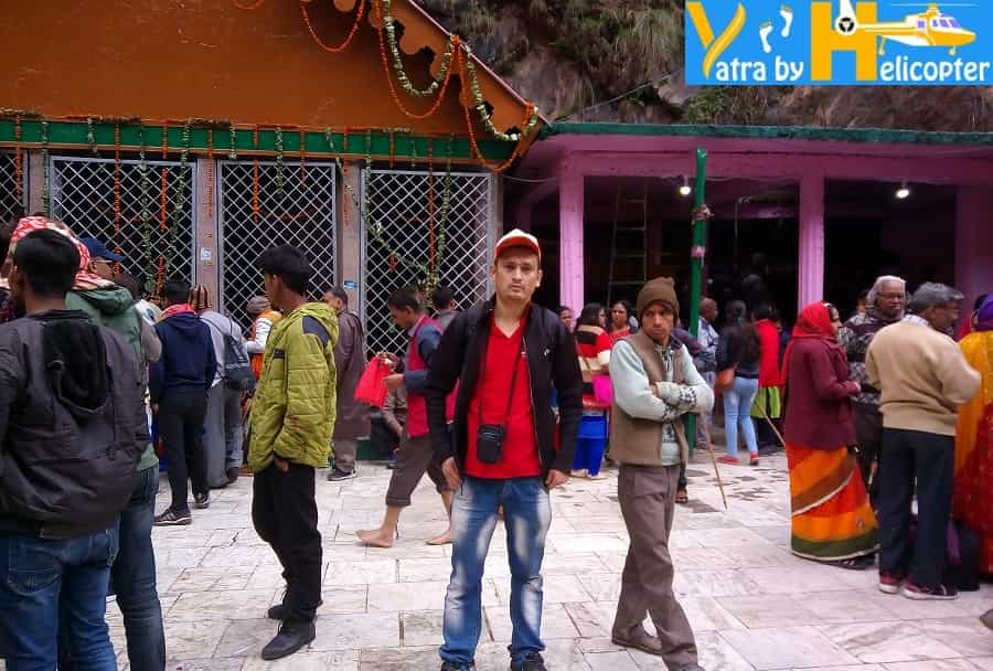 In Front of Yamunotri Temple