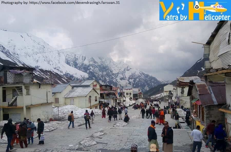 Magnificent view from kedarnath