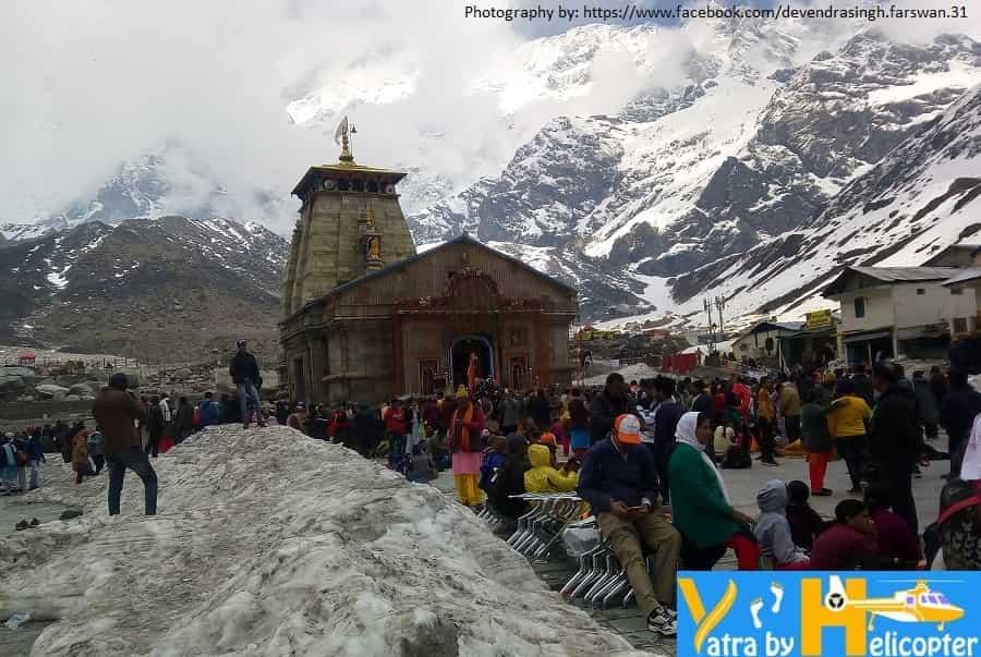 Yatra waiting for Kedarnath Darshan